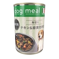 Pet'sOne ドッグミール缶 角切りチキン&緑黄色野菜 成犬用 400g