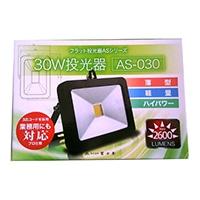 富士倉 薄型LED投光器30W AS‐030