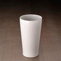 【数量限定】陶器風ステンレス真空二重タンブラーM 320ml 白