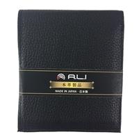 二つ折り財布 205C ブラック