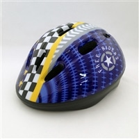吸汗速乾サイクルヘルメット子供用 ネイビーM