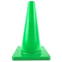 PVCカラーコーン 450緑