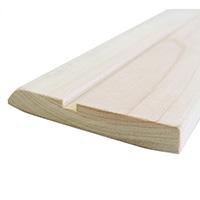 【加工可】岡元木材 ヒノキ巾木(約)9×60×1950mm【別送品】【要注文コメント】
