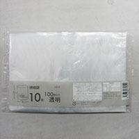 CZ-10 規格袋 10号 透明 100枚入り 0.03mm