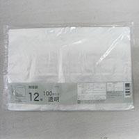 CZ-12 規格袋 12号 透明 100枚入り 0.03mm