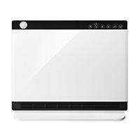 スリーアップ 人感/室温センサー付 パネルセラミックヒーター ヒートワイドスリム ホワイト CH-T2036WH