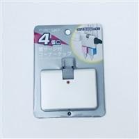 雷サージ防止機能付 4個口コーナータップ