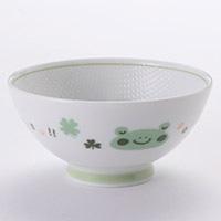 子供用食器 茶碗カエル グリーン 小