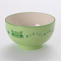 子供用食器 汁椀カエル   グリーン 小