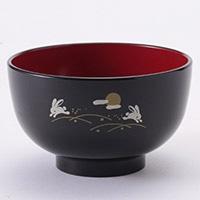 洗浄椀 京型はねうさぎ(黒)