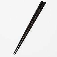 【trv・数量限定】木箸 手彫 黒檀
