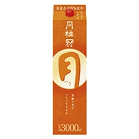 月桂冠 つき パック 3000ml【別送品】