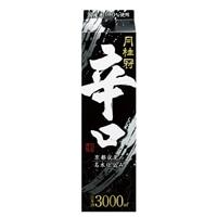 月桂冠 辛口 パック 3000ml【別送品】