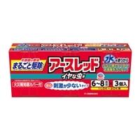 アース製薬 アースレッド イヤな虫用 6〜8畳用 3個パック