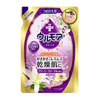 アース製薬 保湿入浴液 ウルモア クリーミーフローラル 詰替 480ml