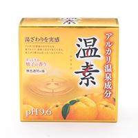 アース製薬 温素 柚子の香り 30g×15包