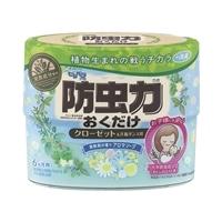 ピレパラアース 防虫力おくだけ 消臭プラス 柔軟剤の香り アロマソープ