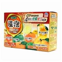 温泡 とろりぜいたく柑橘柚子 12錠