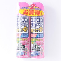 【数量限定】エアコン洗浄スプレー 防カビプラス エアリーフローラルの香り 2本パック