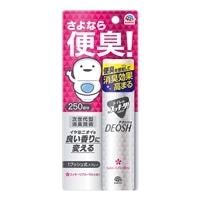 アース製薬 トイレのスッキーリ!Sukki-ri!DEOSH 1プッシュ式スプレー スッキーリフローラルの香り 50ml
