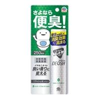 アース製薬 トイレのスッキーリ!Sukki-ri!DEOSH 1プッシュ式スプレー スッキーリフォレストの香り 50ml