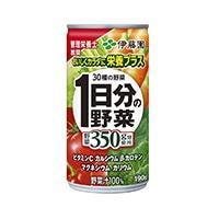 【ケース販売】伊藤園 1日分の野菜 缶 190g×20本