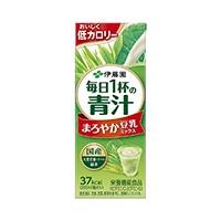【ケース販売】伊藤園 毎日1杯の青汁 まろやか豆乳ミックス 紙パック 200ml×12本