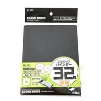 CD/DVDバインダー CDKB−32(BK)