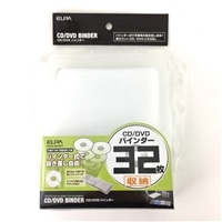 CD/DVDバインダー CDKB−32(WH)