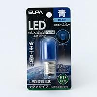 LEDナツメ球 E17青 LDT1B-E17G112