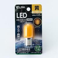 LEDナツメ形 黄   口金E17 G113
