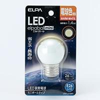 LEDミニボール球電球色LDG1L−G−G251