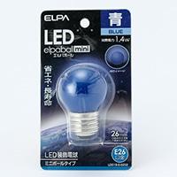 LEDミニボール形青色 G40口金26口径G252
