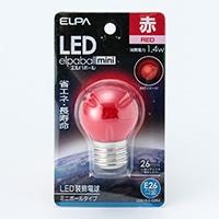 LEDミニボール球 赤 LDG1R−G−G254