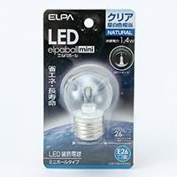 LED電球G40形E26LDG1CN−G−G255