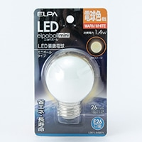 LEDミニボール形電球色G50口金E26 G271