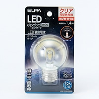 LED電球G50形E26LDG1CL−G−G276