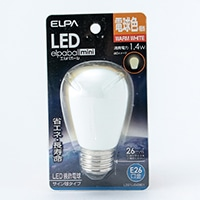 LEDサイン形電球色  口金E26 7W G901