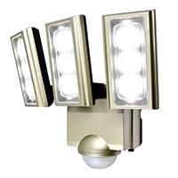 センサーライト AC式 3灯 ESL-ST1203AC