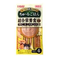 【数量限定】いなば ちゅーるごはん とりささみ&チーズ 14g×4本