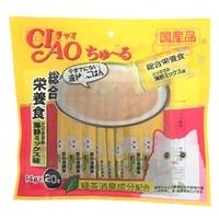 【数量限定】いなば CIAO ちゅ〜る 総合栄養食 ささみ海鮮ミックス味 14g×20本