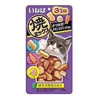 いなば 焼ミックス 3つの味 かつお節・チキンスープ・いか風味 25g