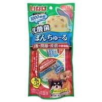 乳酸菌ぽんちゅ〜る とりささみ&野菜ビーフ入り 35g×2個