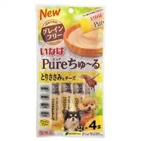 Pureちゅ〜る とりささみ&チーズ 14g×4本