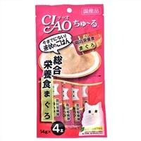 いなば CIAO ちゅ〜る 総合栄養食 まぐろ 14g×4本