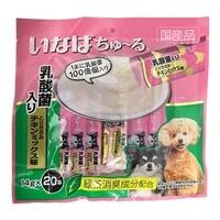 いなば ちゅ〜る 乳酸菌入り とりささみチキンミックス味 14g×20本 犬用おやつ