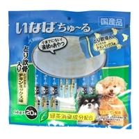 いなば ちゅ〜る とり軟骨入り とりささみチキンミックス味 14g×20本 犬用おやつ