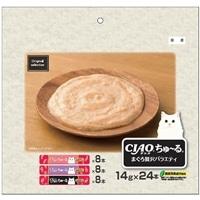 オリジナルセレクション CIAOちゅ〜る まぐろ贅沢バラエティ 24本