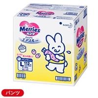 花王 メリーズ パンツ カラー箱 Lサイズ 112枚(56枚×2パック) 【別送品】