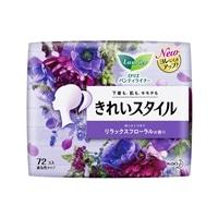 花王 ロリエ パンティライナー きれいスタイル リラックスフローラルの香り 72個